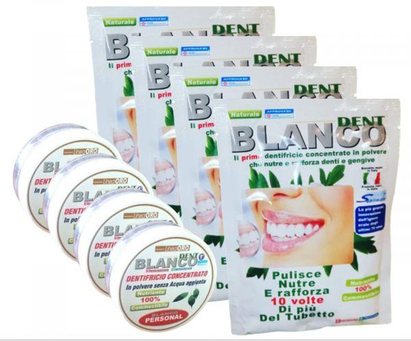 Blancodent, dentifricio in polvere