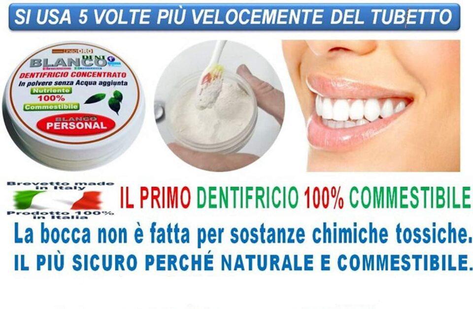 Blancodent dentifricio in polvere